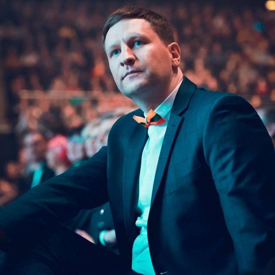 """fcb4b1a72993 Simonas Kairys. Antrą kartą mero posto siekiantis """"Vieningo Kauno"""" vienas  įkūrėjų bei lyderis V. Matijošaitis ..."""