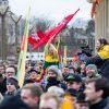 Tūkstantinė minia suplūdo į A. Tapino sušauktą mitingą prie Seimo <span style=color:red;>(vaizdo įrašas)</span>