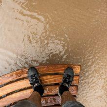 """Dėl potvynio Laisvės alėjoje kaltas lietus ar """"Autokausta""""?"""