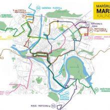 Dėl kelio darbų laikinai keičiama 54 maršruto trasa
