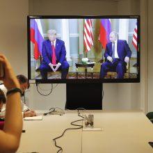 Helsinkyje – D. Trumpo ir V. Putino derybos