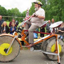 Žemaitiškas dviratis pripažintas sunkiausiu pasaulyje