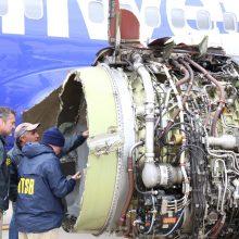 Sugedus JAV bendrovės lainerio varikliui žuvo žmogus