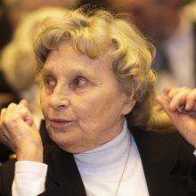 Vienuolei, disidentei N. Sadūnaitei įteikta Laisvės premija
