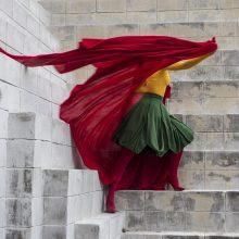 Lietuvės dizainerės kūrinys – vėliava, kurią galima apsivilkti