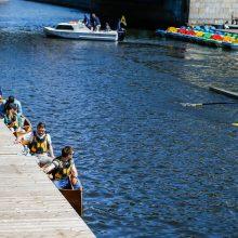 Laivų parado šventėje – sportiniai akcentai
