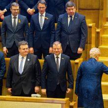 Prezidentūra: kad S. Skvernelio Vyriausybėje nėra moterų – ne atsitiktinumas