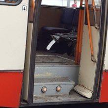 Paaiškėjo, kad sprogus troleibuso padangai sužeisti 6 žmonės (mero komentaras)