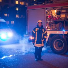 Per gaisrą daugiabutyje sudegė vyras