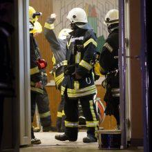 Sostinės prekybos centre įsikūrusioje kavinėje kilo gaisras
