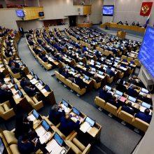 Žiniasklaidos priemonės boikotuoja Rusijos Dūmą