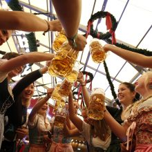"Miunchene prasideda ""Oktoberfest"" festivalis"