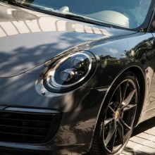 """Iš Gariūnų aikštelės dingo 90 tūkst. eurų vertės """"Porsche"""""""