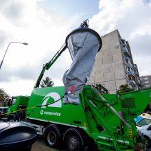 Siūlo tvirtinti konteinerių įrengimo vietas tik suderinus su gyventojais