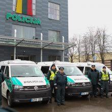 Vilniaus policiją pasiekė nauji autobusiukai