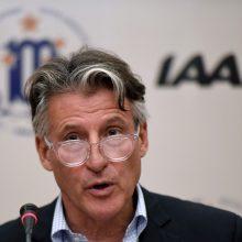 Prieš lengvosios atletikos čempionatą – žinia Rusijai: ji lieka nušalinta