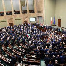 Lietuvoje vėl lankysis Lenkijos Seimo maršalka