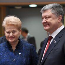 Į Lietuvą atvyksta Ukrainos prezidentas