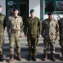 Danijos princas Lietuvoje lankė NATO karius