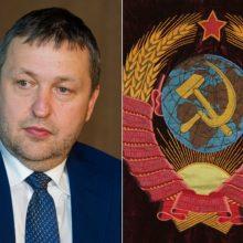 A. Guoga prašo prekes su sovietų simboliais traktuoti kaip ir nacių