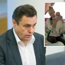 P. Gražulio vaiko susilaukusi Birutė: įžeidinėjimai baisiau nei skandalas