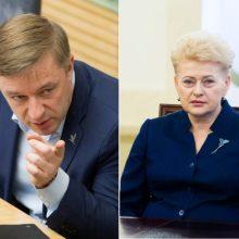 """R. Karbauskis rėžė: prezidentė skirsto Lietuvą į """"apačias"""" ir """"viršūnes"""""""