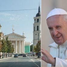 Vilnius laukia popiežiaus: Senamiestyje – iššūkiai dėl transporto