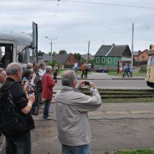 Iš Amerikos ir Vokietijos – pasivažinėti troleibusais