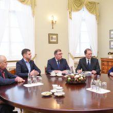 D. Grybauskaitė: Lietuvos netenkina mažesnės išmokos žemdirbiams