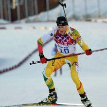 Pasaulio biatlono taurė: istorinis lietuvių finišas bei T. Kaukėno blyksnis