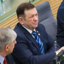 K. Pūkas nepasikuklino: Seime nesirodė, bet leido valstybės pinigus
