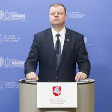 S. Skvernelis prezidento rinkimuose patirtų rimtų iššūkių