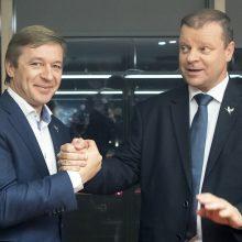 S. Skvernelis svarsto stoti į Lietuvos valstiečių ir žaliųjų sąjungą