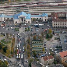 Vilniaus geležinkelio stoties rajone bręsta permainos
