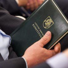 Seimas balsuos dėl individualaus konstitucinio skundo įteisinimo