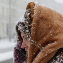 Ruoškitės – šaltį keis gausus sniegas ir pūgos
