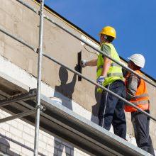 Lietuvos statybose laisvas darbo vietas užpildo ukrainiečiai