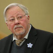 V. Landsbergis: prezidentas, kaip ir kunigas, turi būti tam pašauktas