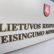 Europos teisės departamentas jungiamas prie Teisingumo ministerijos