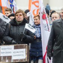 Mokytojų etatiniam apmokėjimui įvesti valstybė skirs 93 mln. eurų