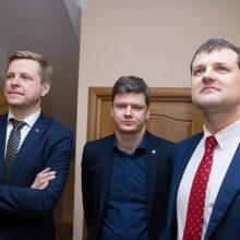 Socialdemokratai pateikė darbų sąrašą koaliciją lipdantiems liberalams