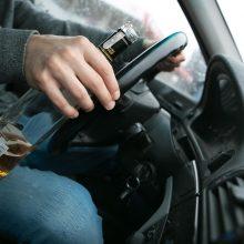 Per savaitę sostinės pareigūnams įkliuvo 15 neblaivių vairuotojų