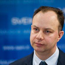A. Veryga tikisi Seimo pagalbos dėl ligoninių pertvarkos