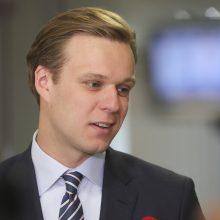 """""""MG Baltic"""" bylos posėdyje G. Landsbergis liudys penktadienį"""