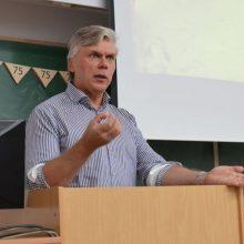 Vilniaus universiteto ekonomikos profesorius ir alaus ekspertas Linas Čekanavičius