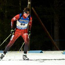 Lietuvos biatlonininkai pasaulio taurės estafetėje nesužibėjo