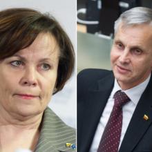 R. Juknevičienė ir P. Urbšys vienijasi prieš korupcija įtariamą merą