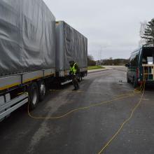 Pasieniečiai per operaciją Latvijos pasienyje gaudė nelegalius migrantus