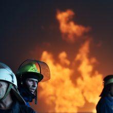 Ukrainos vaikų stovykloje kilus gaisrui žuvo dvi mergaitės