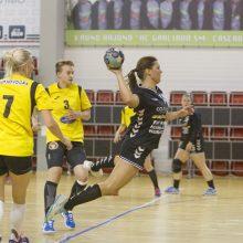 Lietuvos klubai pergalingai pradėjo kovas Baltijos moterų rankinio lygoje